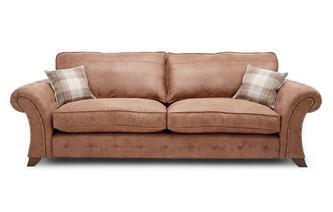 4-zits sofa met vaste rugkussens Oakland