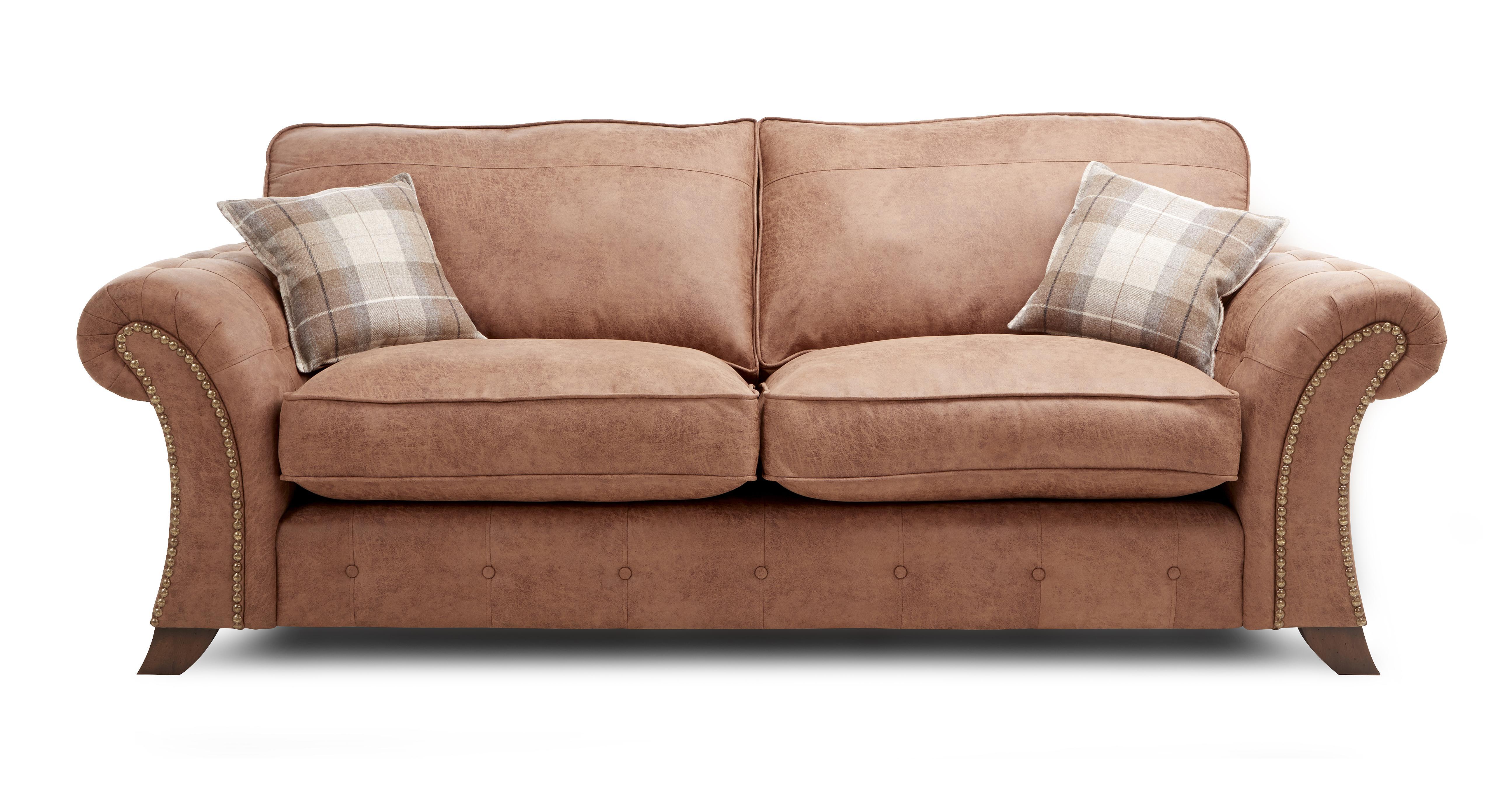 Woodland Express: 3 Seater Formal Back Sofa