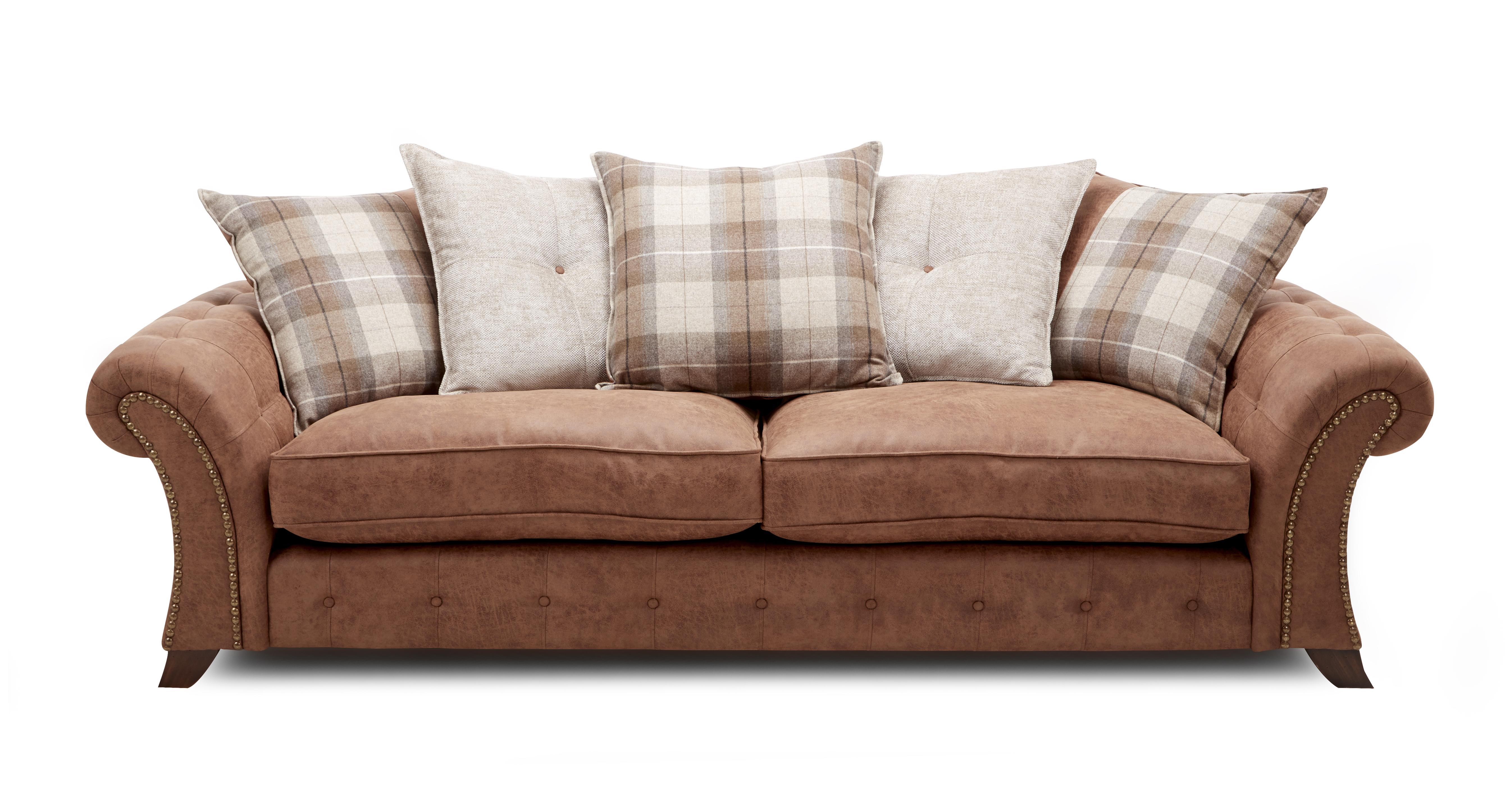 Woodland Express 4 Seater Pillow Back Sofa Oakland | DFS