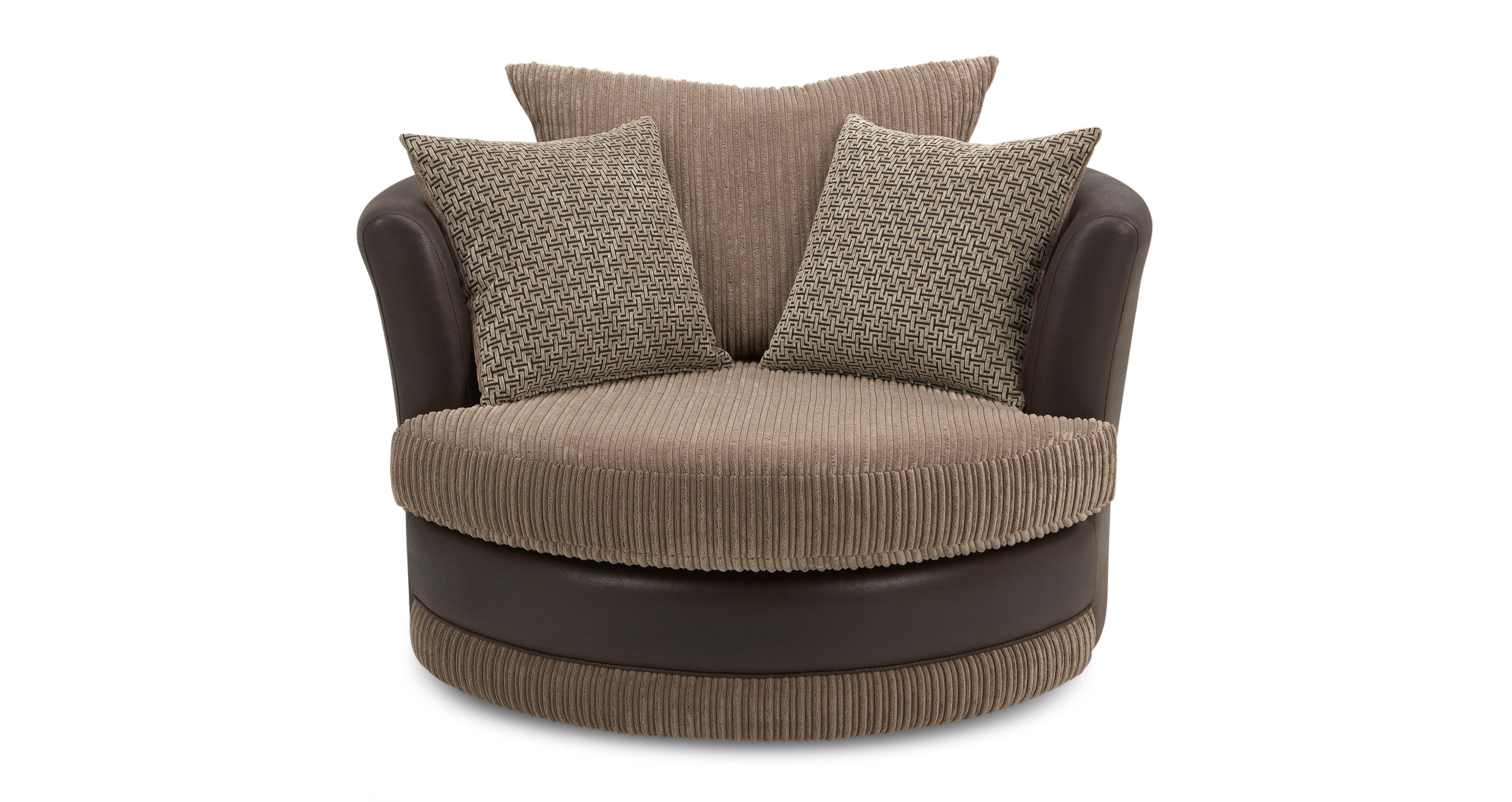 Wyndham Large Swivel Chair Wyndham Rib DFS