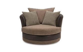 Wyndham Large Swivel Chair Wyndham Rib