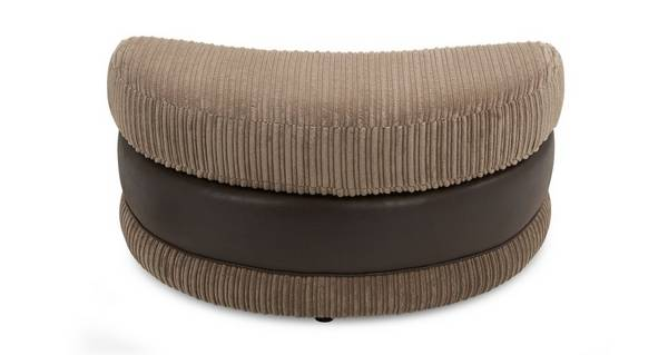Wyndham Half Moon Footstool
