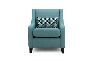 Accent Chair with 1 Pattern Bolster