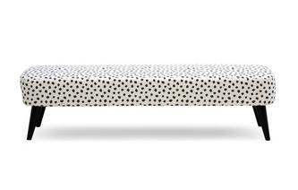 Pattern Large Bench Footstool