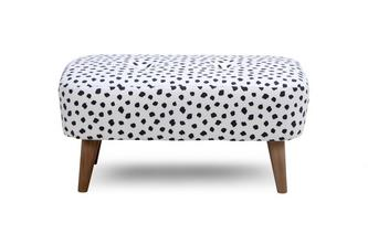 Pattern Small Bench Footstool