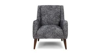 Zahara Paisley Accent Chair