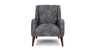 Zahara Paisley Accent Chair
