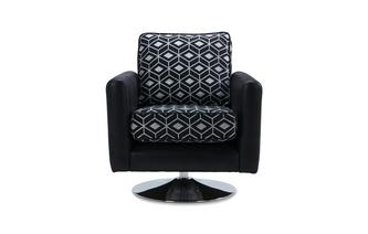 Pattern Swivel Chair Zander