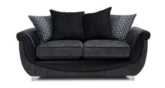 Zander Large 2 Seater Pillow Back Sofa