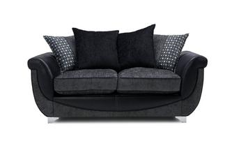 Large 2 Seater Pillow Back Supreme Sofa Bed