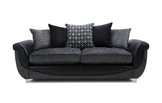4 Seater Pillow Back Sofa