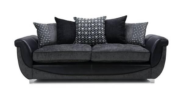 Zander 4 Seater Pillow Back Sofa