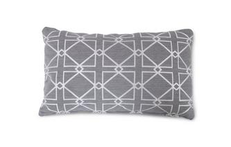 Patroon Bolster Cushion Dusky Pattern
