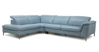 Zannoni Option D Right Hand Facing Arm 2 Piece Corner Sofa