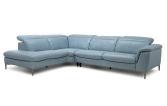 Option D Right Hand Facing Arm 2 Piece Corner Sofa