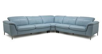 Zannoni Option C 3 Corner 3 Sofa
