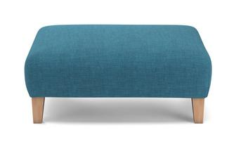 Plain Banquette Footstool Revive