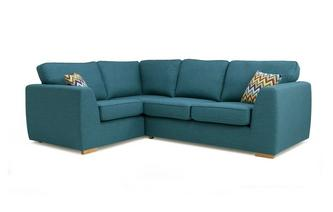 Right Hand Facing 2 Seater Corner Sofa Bed Revive