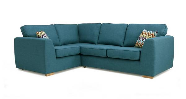 Zapp Right Hand Facing 2 Seater Corner Sofa Bed