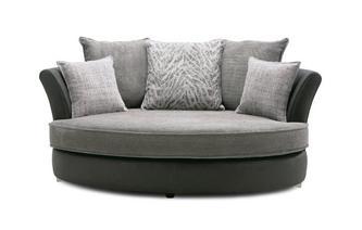 Oval Cuddler Sofa