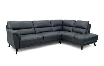 Left Hand Facing Open End Corner Sofa