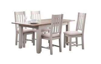 Medium Extending Table & 4 Chairs