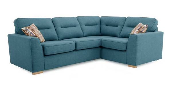 Zest Left Hand Facing 2 Seater Corner Sofa
