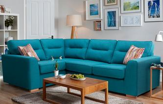 Zest Right Hand Facing 2 Seater Corner Sofa Revive