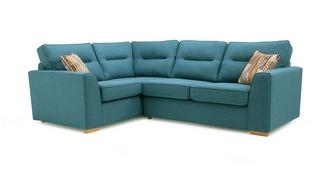 Zest Right Hand Facing 2 Seater Corner Sofa Bed