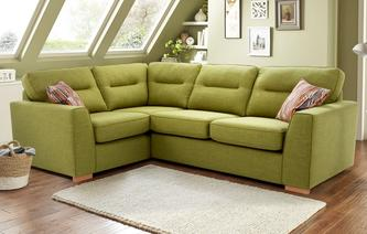 Zest Right Hand Facing 2 Seater Corner Sofa Bed Revive