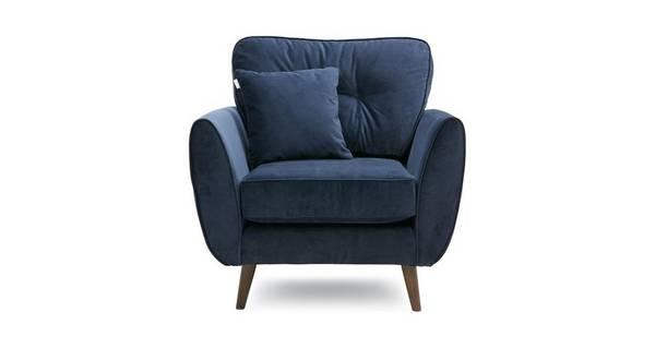 Zinc Velvet-Armchair
