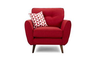 Chairs chaise longue swivel and snuggle chairs reds for Chaise longue dfs