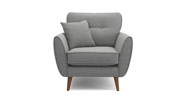 Zinc Weave Armchair