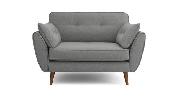 Zinc Weave Cuddler Chair