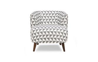 Pattern Tub Chair Zinc Pattern