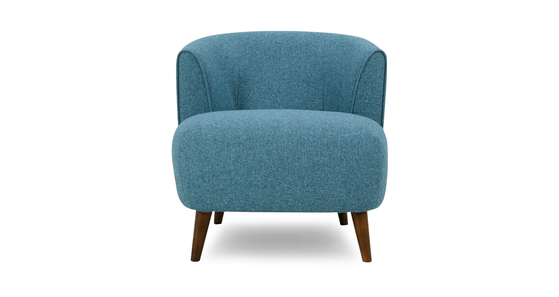 Zinc Plain Tub Chair | DFS
