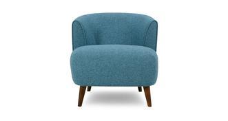 Zinc Plain Tub Chair