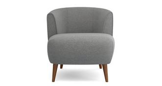 Zinc Weave Tub Chair