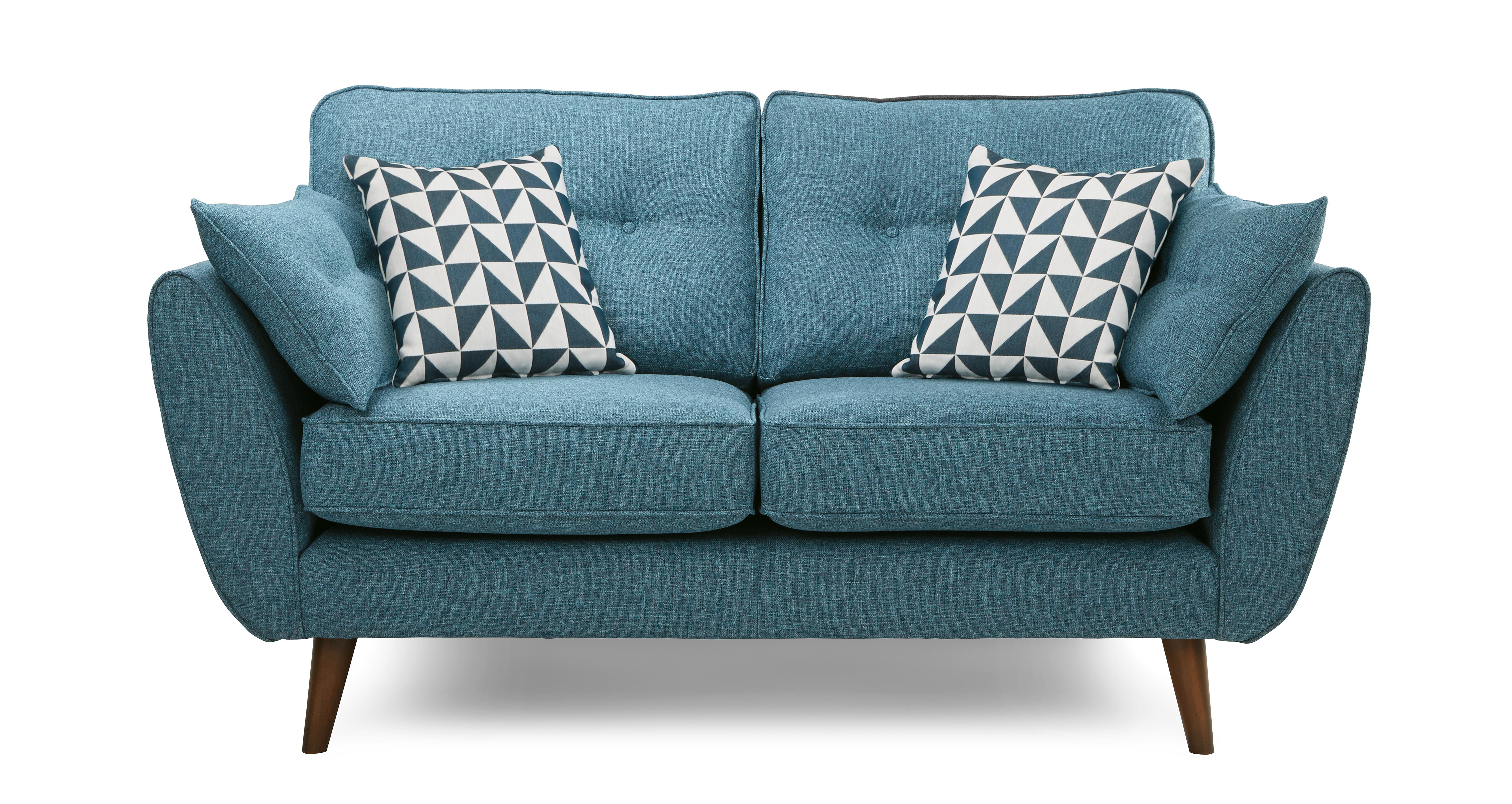 tealandbluecombination sofa french ireland dfs zinc seater couch