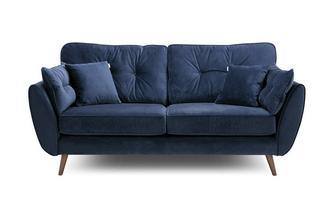 Velvet 3 Seater Sofa Luxe Velvet