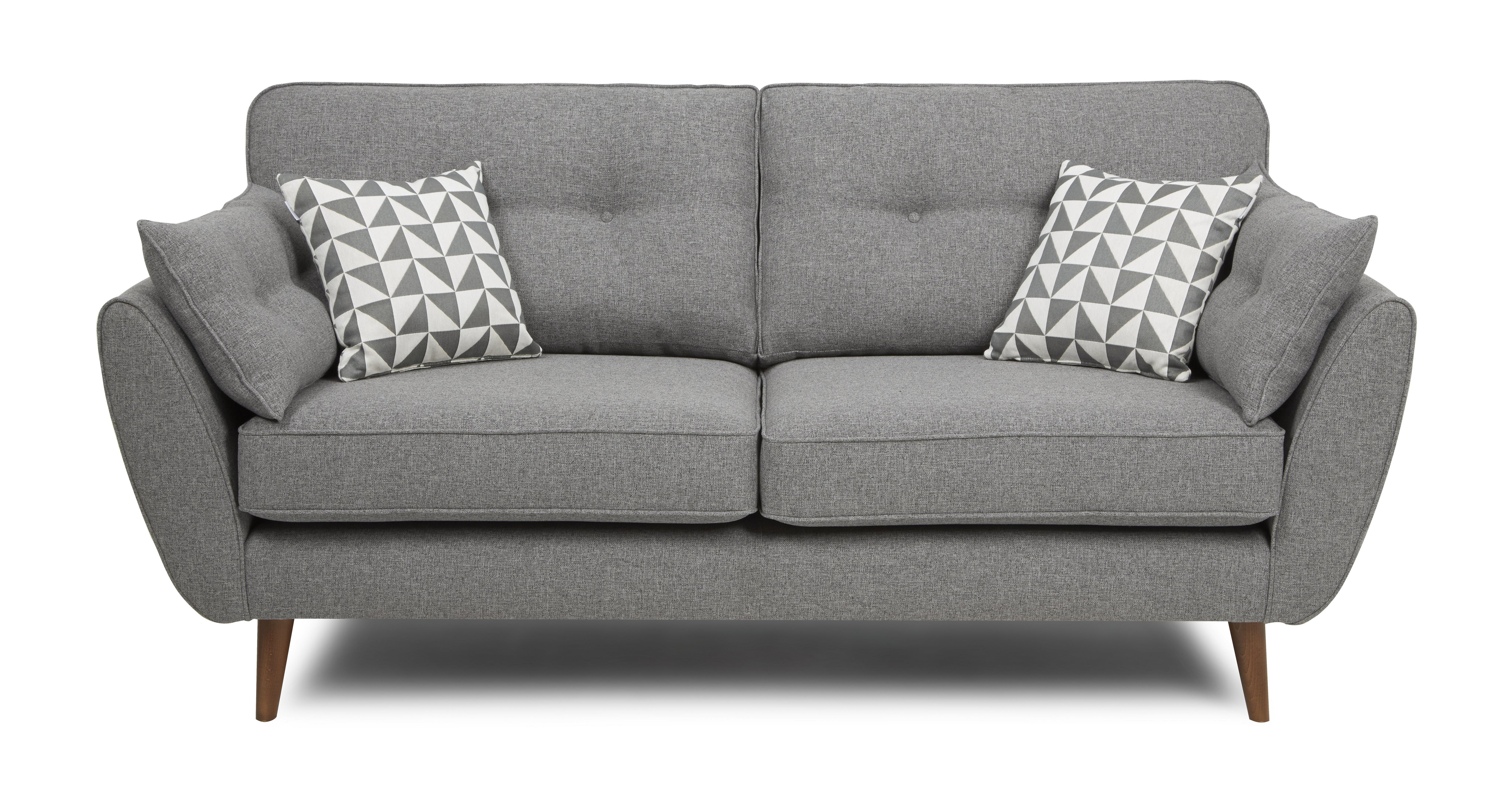 zinc 3 seater sofa | dfs