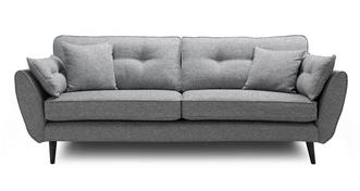 Zinc Weave 4 Seater Sofa