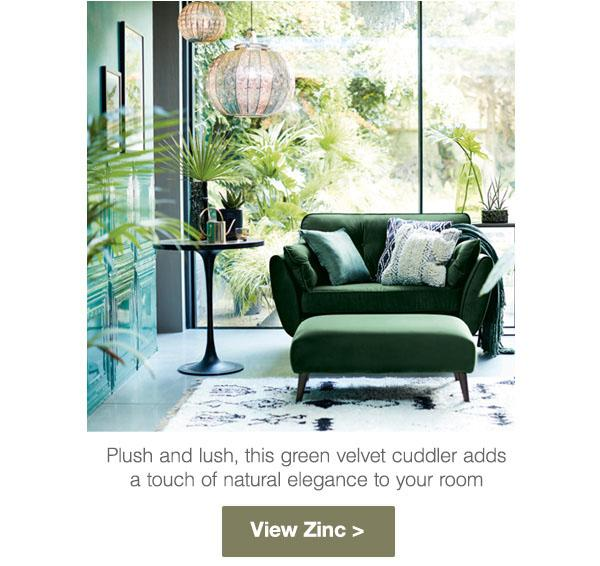 Green Living Room Dfs
