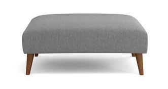 Zinc Weave Large Footstool