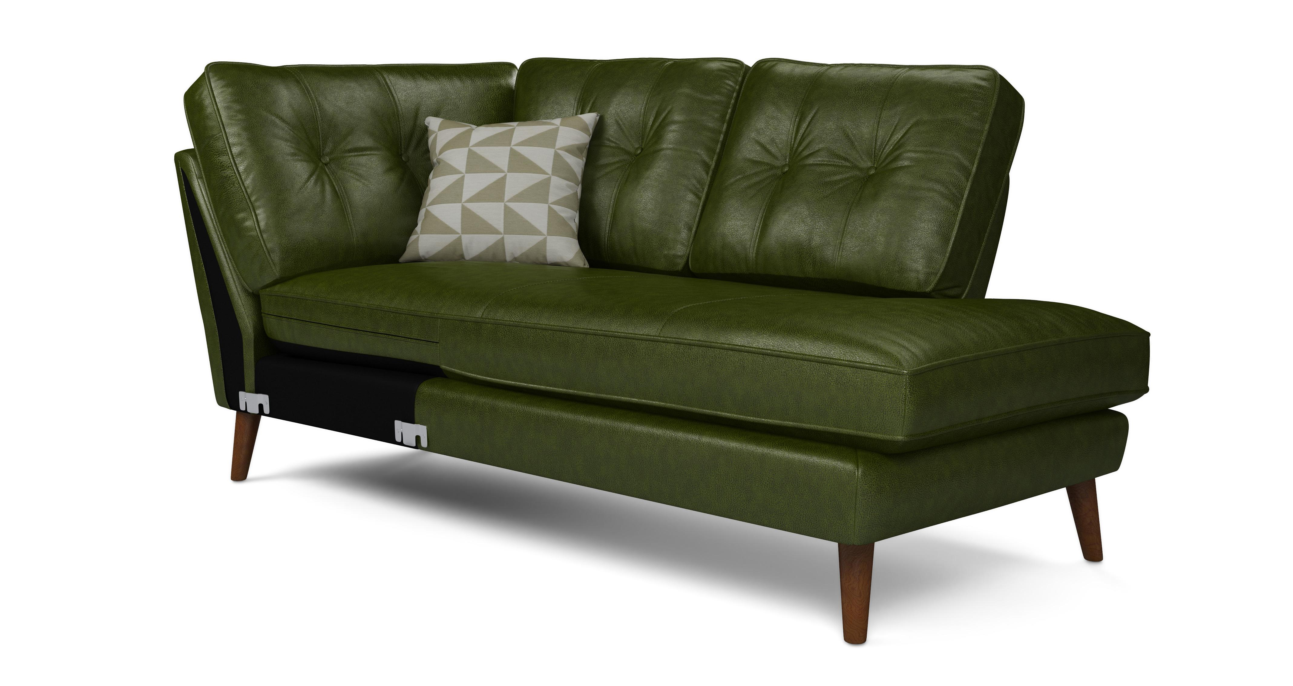 Leather sofas in a range of styles greens dfs