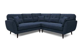 2 Piece 2 Arm Corner Group Luxe Velvet