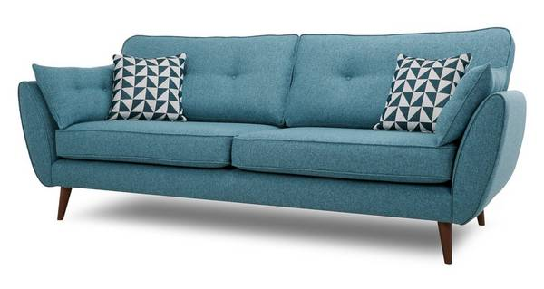 Zinc Express 4 Seater Sofa Dfs