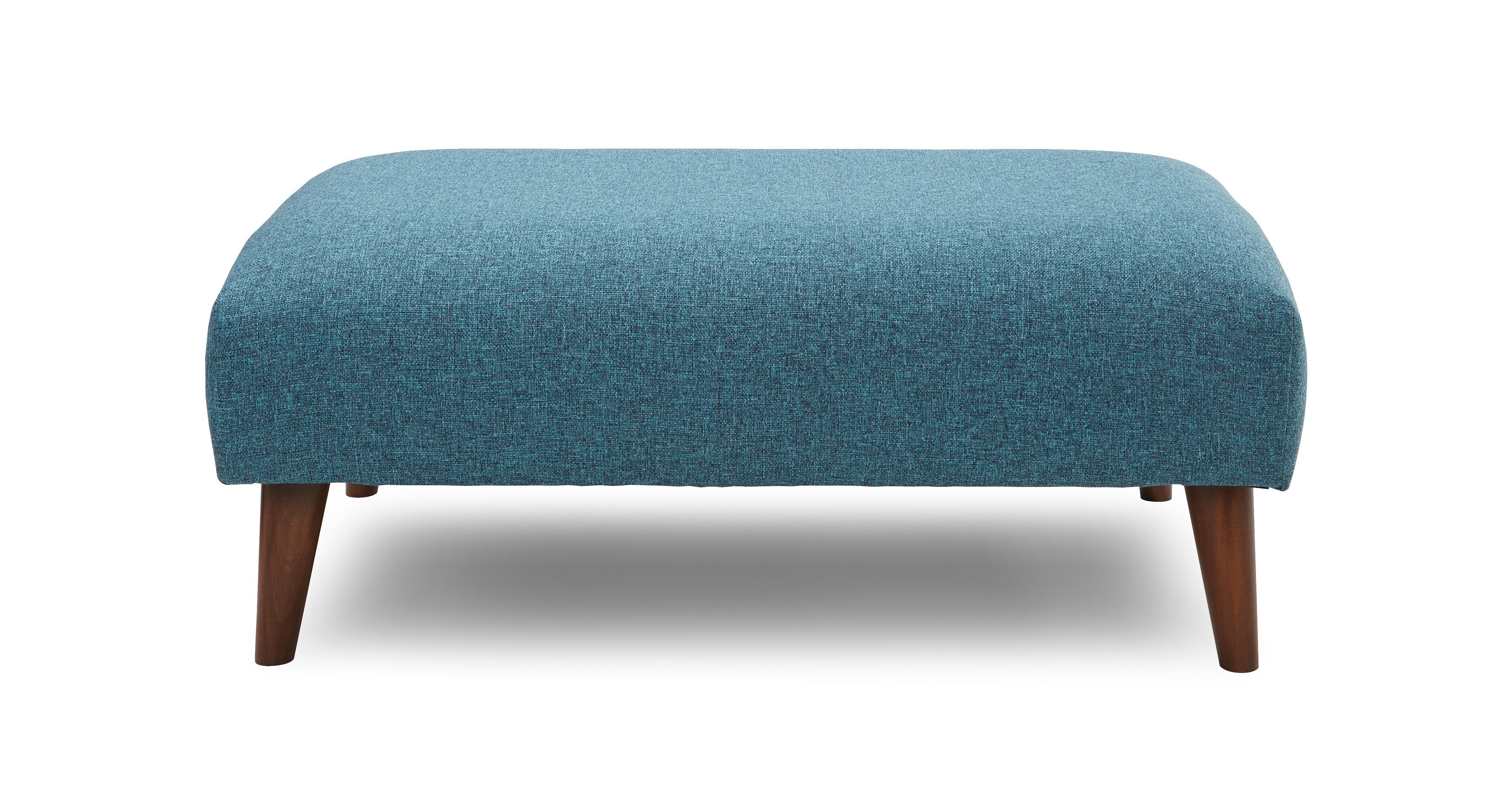 Zinc Express Plain Large Footstool Dfs