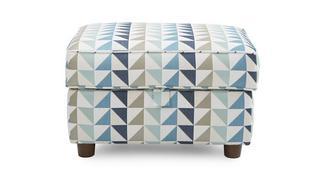 Zinc Express Pattern Storage Footstool