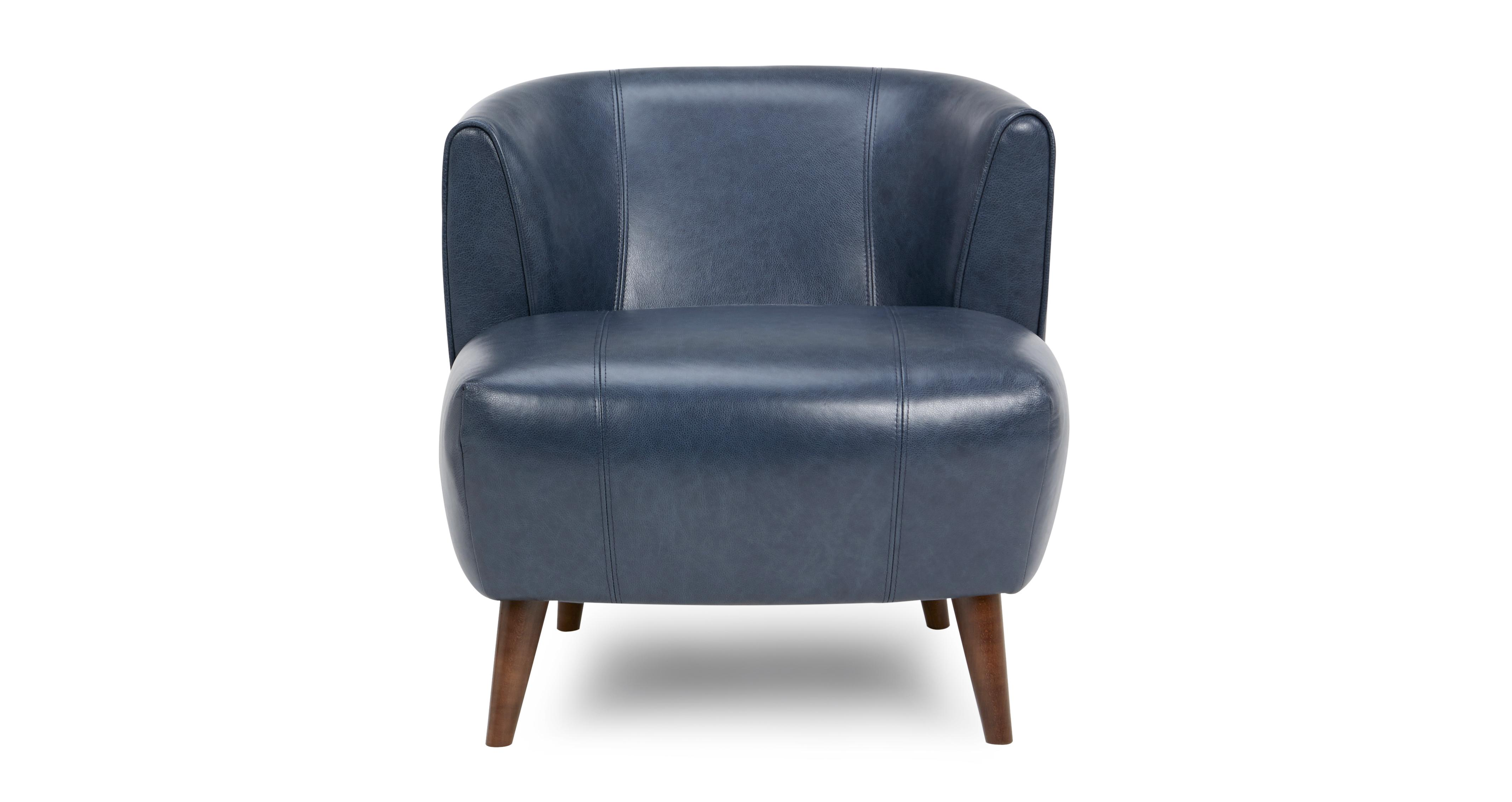 Zinc Leather Tub Chair | DFS Ireland